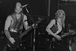 Venom at Paradiso, Amsterdam, The Netherlands on October 28th, 1985.